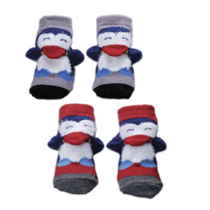 3-D PENGUIN SOCKS  BF-427-2